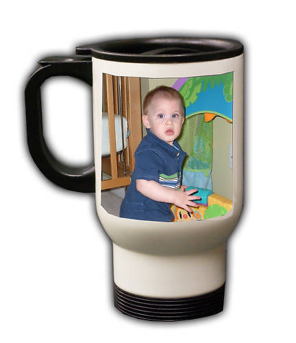 Personalized Custom Photo Mother's Day Travel Mug Gift #3