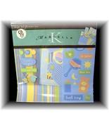 ~Baby Boy Scrapbook Kit, Marcella by K, NIP~ Over 50Pcs - $6.95