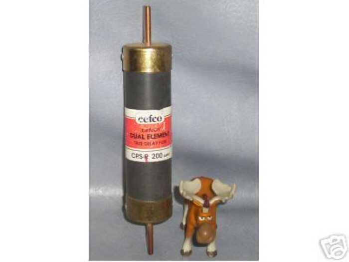 Cefco Dual Element Time Delay Fuse CRS-R 200 amp