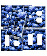 BLUEBERRY KITCHEN DECOR LIGHT SWITCH OUTLET COVER PLATE - $8.99