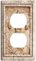 Royal Fleur De Lis Electrical 2 Outlet Wall Plate Cover - $8.99