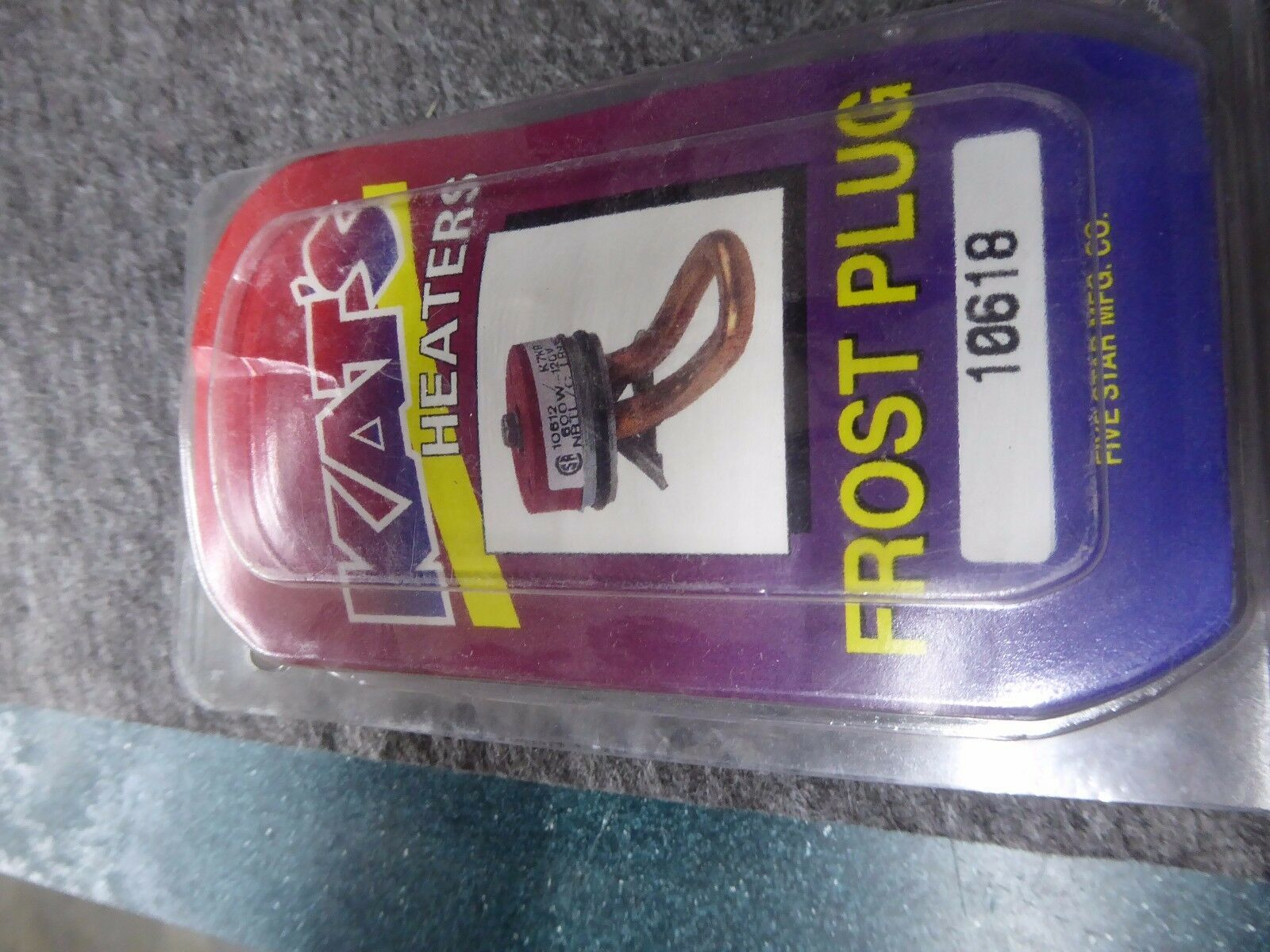 Kat's 10618 Frost Plug Engine Block Heater