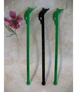 Roberts Rod n Reel Portland Seattle Swizzle Stir Sticks 3 - $3.99