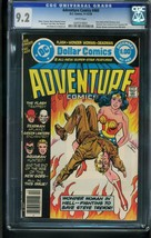 Adventure Comics #460 1978-CGC Graded 9.2 White PAGES-WONDER WOMAN- 0207318001 - $90.94
