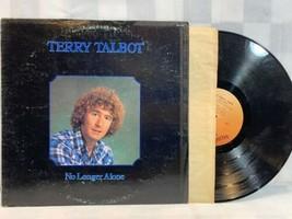 TERRY TALBOT No Longer Alone LP Record Album Vinyl - $270,50 MXN