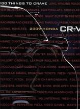 2009 Honda CR-V sales brochure catalog 09 CRV LX EX EX-L - $6.00