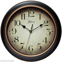 12'' Wall Clock Large Silent Round Decorative Home Decor Analog 12 Hour ... - $27.85