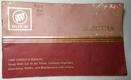 1984 Buick Electra Owner's Manual - $6.00