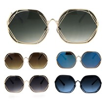 Womens Art Nouveau Deco Metal Rim Butterfly Diva Sunglasses - $12.95