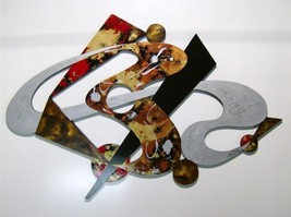 Textured Abstract Wall Sculpture, Stylish & Unique  34x22 - $199.99