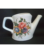 McCoy Pottery Watering Can Vase Floral Planter 720 - $32.00