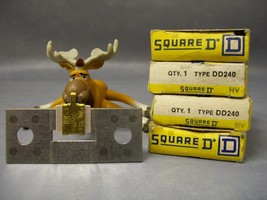 DD240 Square D Overload Relay Thermal Unit Lot of 4 - $75.16
