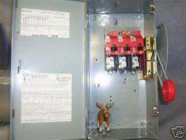 DH361UGK Cutler Hammer Safety Switch  30 Amp - $220.17