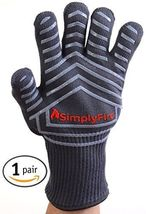 SimplyFire Heat Resistant Cooking Gloves | Baking, Oven & Barbecue Gloves | - $56.00