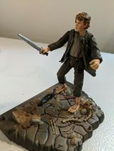 The Lord of the Rings Samwise Gamgee w/base Mt Doom & accessories 2001 Marvel image 6