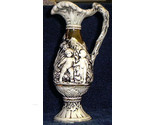 L vase blk wh  with gold trim 795 thumb155 crop