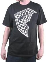 Famous Stars & Straps Mens Black/White Check It BOH Ska Badge of Honor T-Shirt