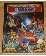 * Warhammer Armies Undead OOP book - $10.00