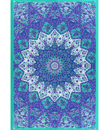 Twin Size Tapestry Wall Hanging Home Decor Bedspread Wall Tapestry Manda... - $21.98
