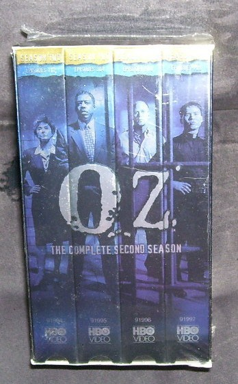 Oz complete 2nd season vhs