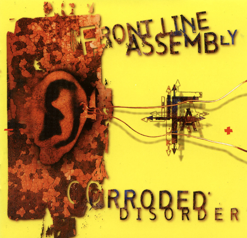 Frontline Assembly - Corroded Disorder CD OOP!