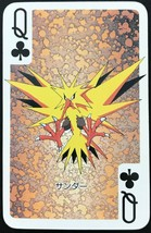 Zapdos 1998 Pokemon Card playing card poker card Rare BGS Nintendo From JP - $99.99