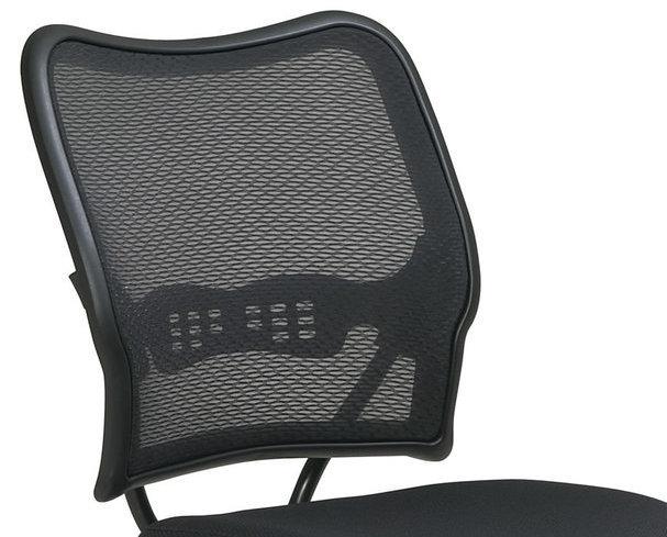 Air Grid Back Mesh Seat Adjustable Round Footring Drafting Chair Stool 13-37N20D