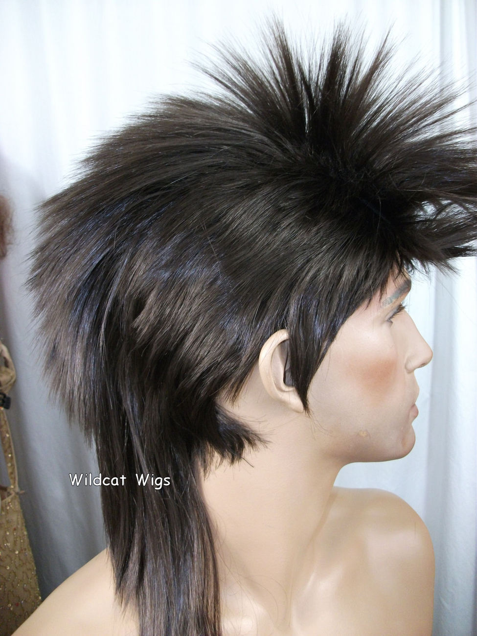Unisex MOHAWK Quality Wig for men or women.  Brown