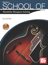 School of Mandolin: Bluegrass Soloing/Book w/CD... - $12.99