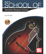 School of Mandolin: Bluegrass Soloing/Book w/CD Set  - $12.99