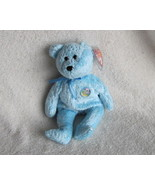 Ty Beanie Babies Baby Decade the Bear Blue Retired - $5.00