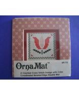 Mini Tulip Ornamat cross stitch chart with doub... - $6.00