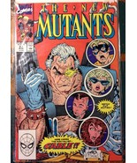 New Mutants # 87 VF VERY FINE Marvel Comics 1st Cable - $49.50