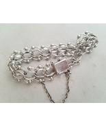 American Sterling Silver Bracelet Women's Fine Jewelry Chain Link - $278.07