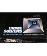 1986 Crime Solvers - First Edition - $18.90
