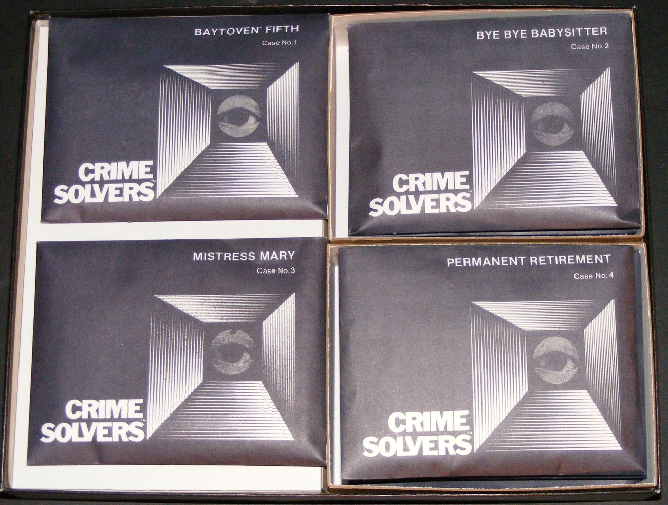1986 Crime Solvers - First Edition