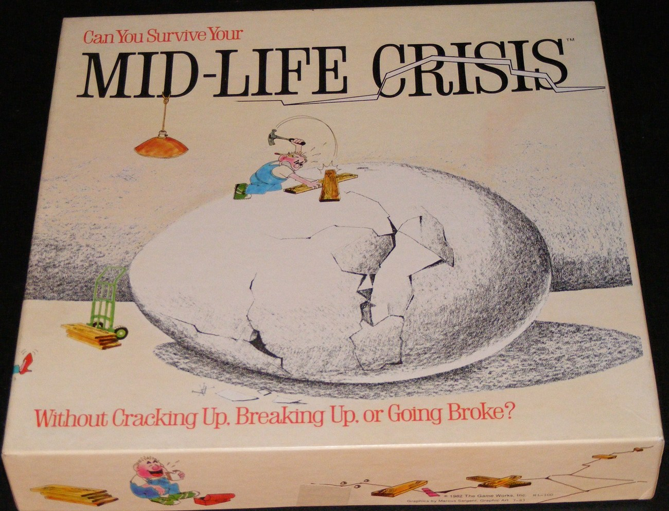 1982 Mid-Life Crisis Board Game