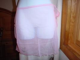 Playboy Sheer Swim Sarong One/Size Pink NWT - $18.99