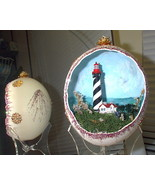 Decorated Ostrich Egg Collectible St. Augustine... - $150.00