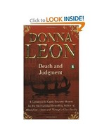 Donna Leon Death and Judgement Guido Brunetti T... - $1.00