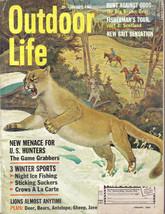 (8) 1963 Outdoor Life-JAN,MAR,APR,MAY,JULY,AUG,SEPT,DEC - $51.43