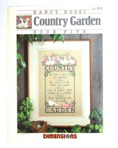 Vintage 1988 Dimensions Nancy Rossi Book 5 Cross Pattern Stitch Country ... - $12.62
