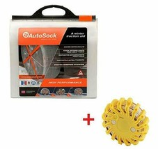 AutoSock HD AL79 Tire Chain Alternative with Rechargeable Emergency Safe... - $227.65
