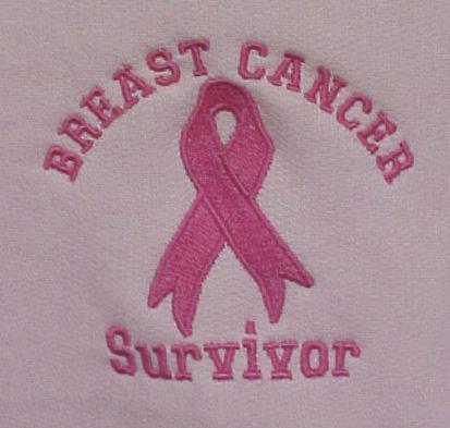 Pink Ribbon Breast Cancer Survivor Awareness Hoodie Hooded Sweatshirt 3X New