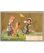 Simpson Crawford Victorian trade card Dry Goods NY comic ephemera - $8.00