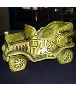 Lefton China planter Green Antique Car - $12.00