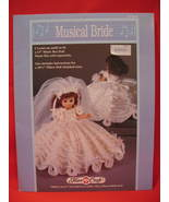 Music Box and Pillow Doll Crochet Pattern Musical Bride - $8.99