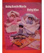 Baby Dolls Toys Clown Santa Claus Bear 18 Crochet Patterns  - $9.99