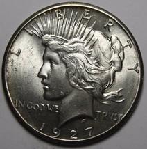 1927 Peace Silver Dollar Coin -  Lot # MZ 4538