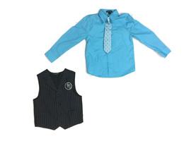 George 3-piece Dressy Vest Shirt Tie Suit - SIZE 5 - CUTE - $13.46